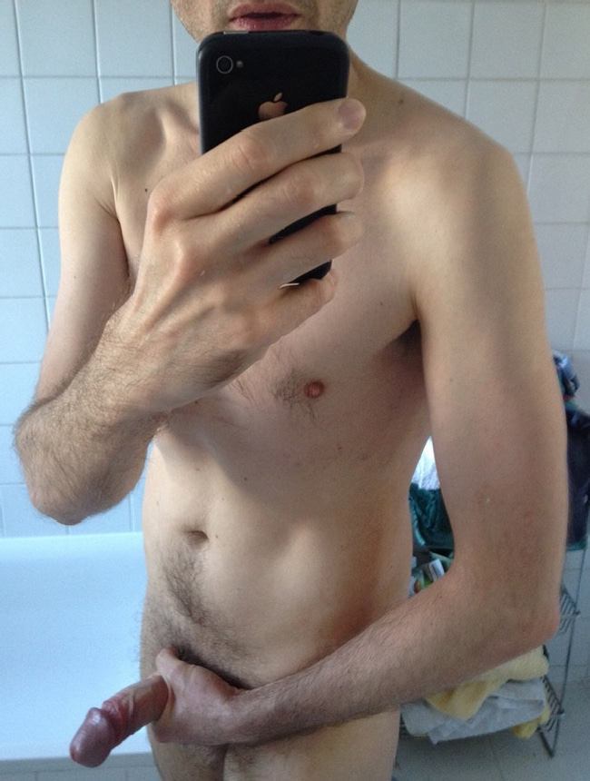Nude Man Wanking