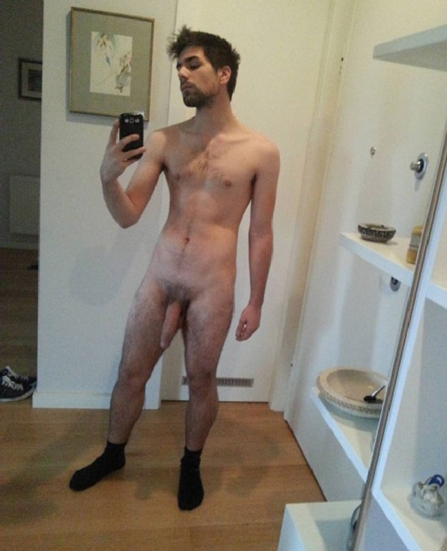 Handsome Nude Man With A Large Dick - Nude Men Post