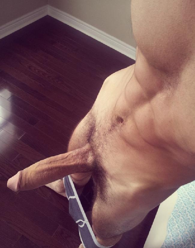 Long Uncut Penis