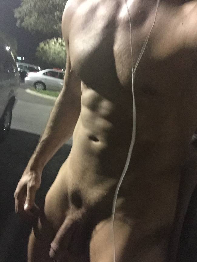 Nude Man Outdoors